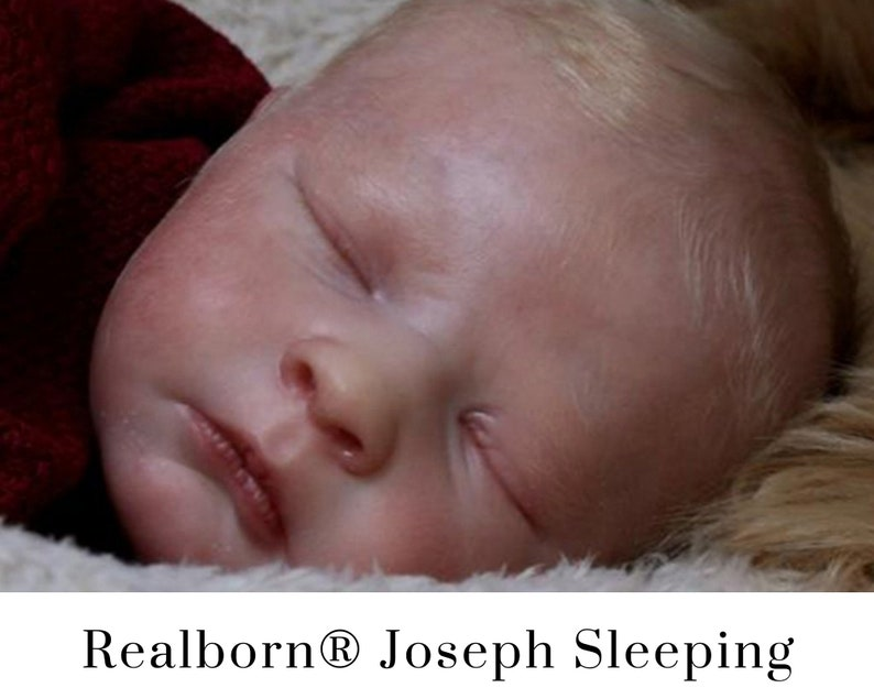 CuStOm Realborn® Joseph Sleeping 18 Inches  Full Limbs image 0