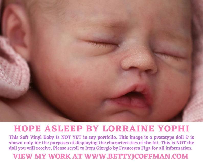 CuStOm FuLL BoDy ViNyL Hope Asleep by Lorraine Yophi GIRL image 0