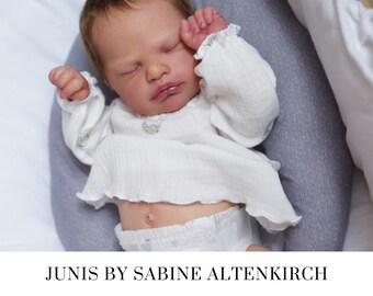 "CuStOm Reborn Baby Junis by Sabine Altenkirch Reborn Doll (20""+Full Limbs)"