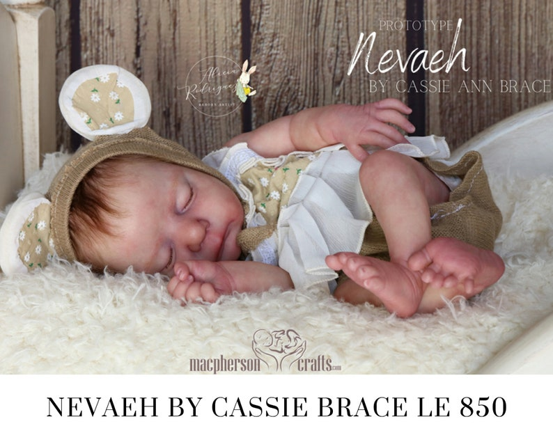 CuStOm Nevaeh By Cassie Brace 18 Inches  Full Limbs image 0