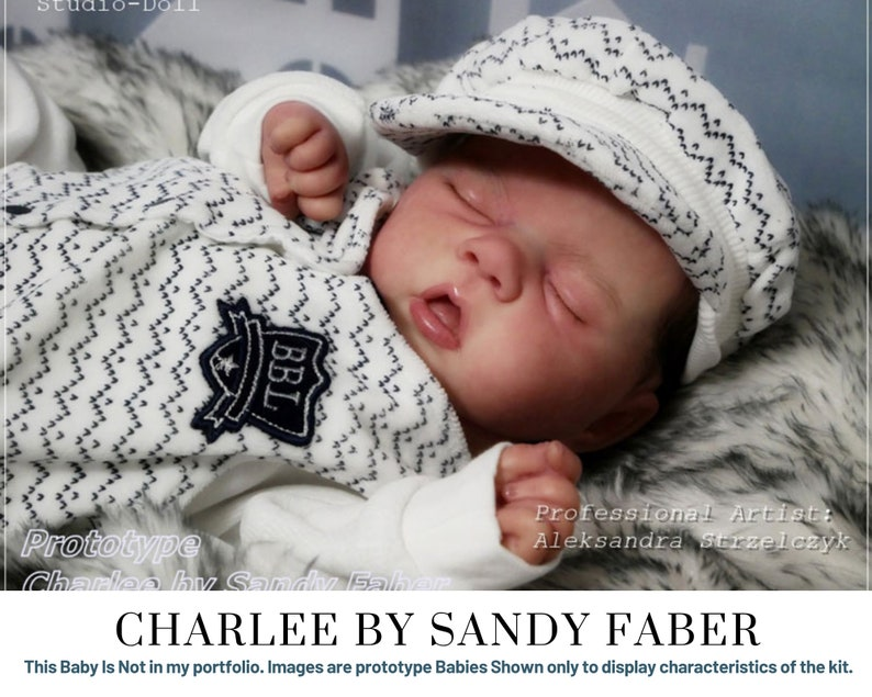CuStOm Charlee by Sandy Faber 20 Inches  Full Arms 3/4 Legs image 0