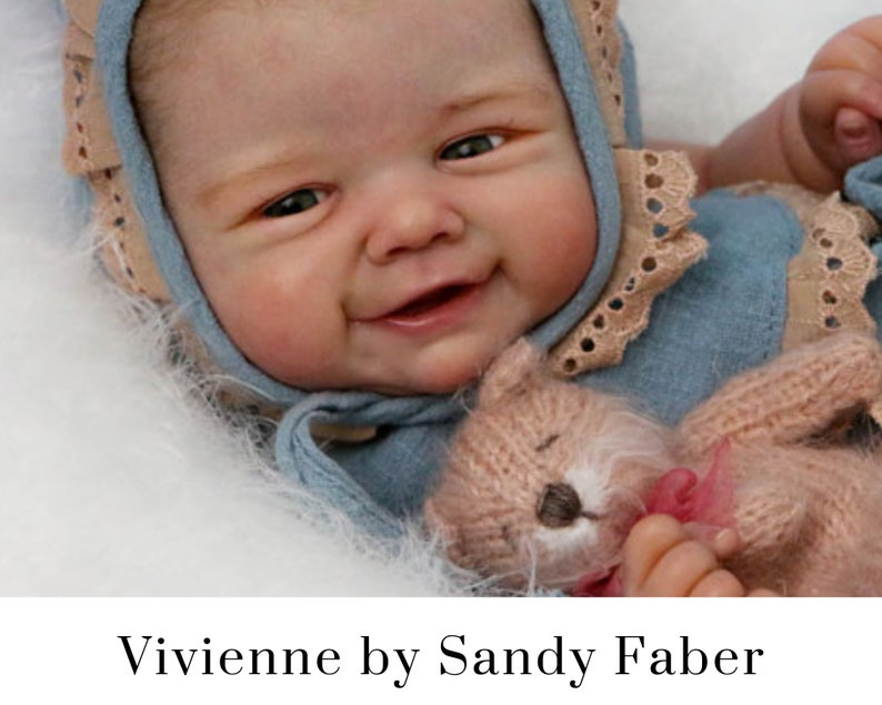 CuStOm Vivienne by Sandy Faber 21 Inches  Full Arms  3/4 image 0