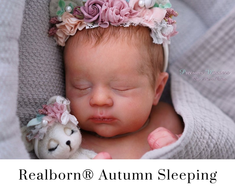 CuStOm Realborn® Autumn Sleeping 19 Inches  Full Limbs image 0