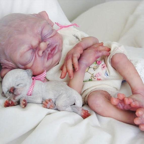 reborn baby dolls Only Custom Order Elf Reborn Beesley Elf