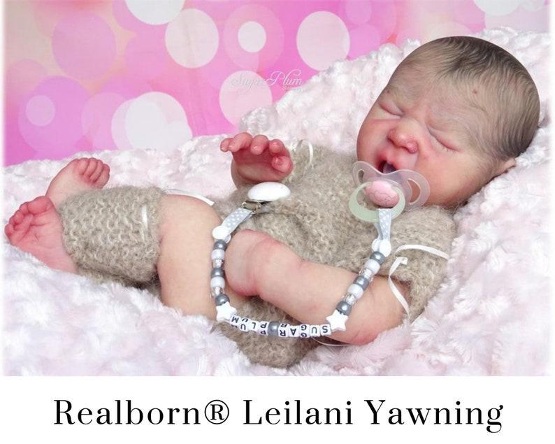 CuStOm Realborn® Leilani Yawning 18 Inches  Full Limbs image 0