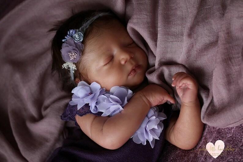Realborn® Lavender Sleeping DIY 19 Reborn Doll Parts Kit
