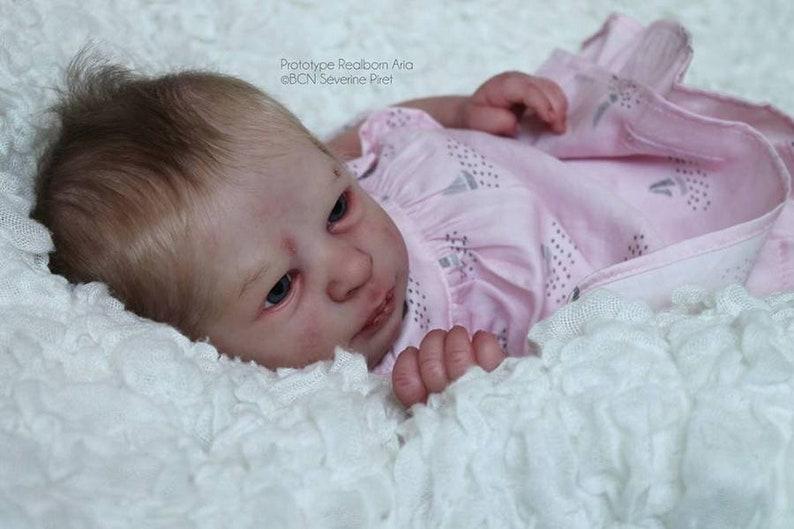 Rebornpuppen & Zubehör Realborn Reborn Girl Baby Doll Aria