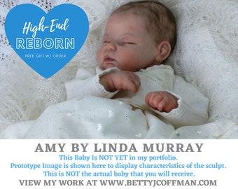 Reborn Doll - HIGH END - Custom Amy by Linda Murray (19 Inches & 3/4 Limbs)