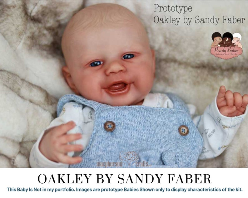 CuStOm  Oakley By Sandy Faber 17 Inches  Full Limbs image 0
