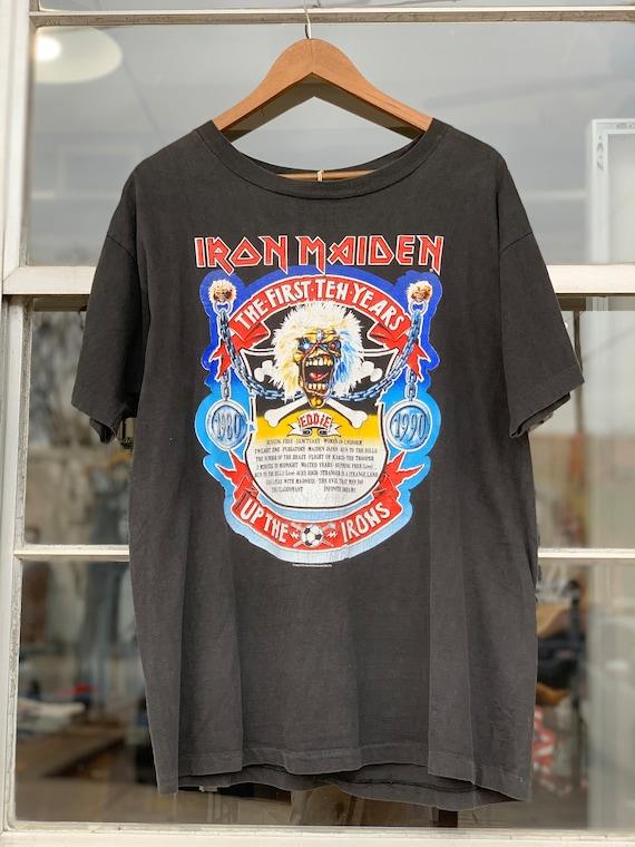 1990's Vintage Iron Maiden First Ten Years Tee