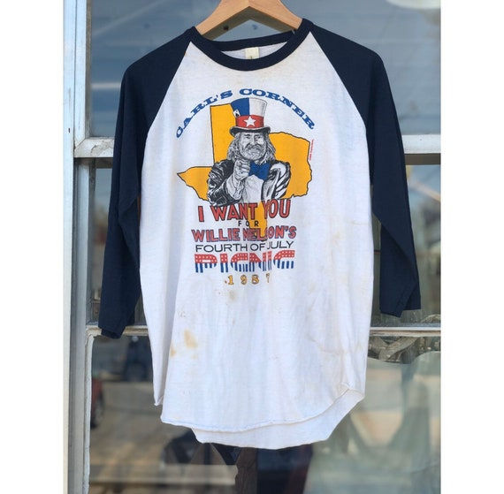 1987 Willie Nelson Picnic Tee | Vintage Concert T-