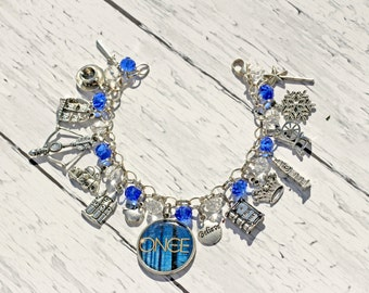 Once Upon A Time Inspired Charm Bracelet Remastered