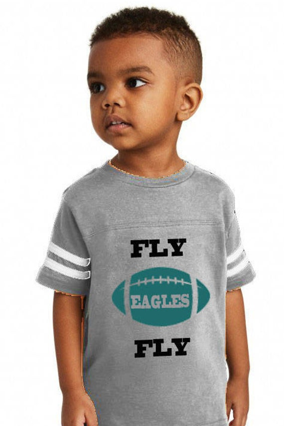 Fly Eagles Fly Toddler T Shirt