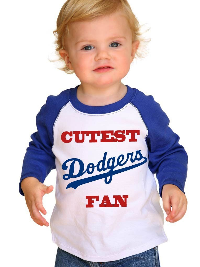 Dodgers Cutest Fan Toddler T-shirt Makes A Perfect Gift World Series Go Dodgers Custom Dodgers T-shirt Unisex Tshirt