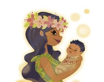 Tahitian Mum