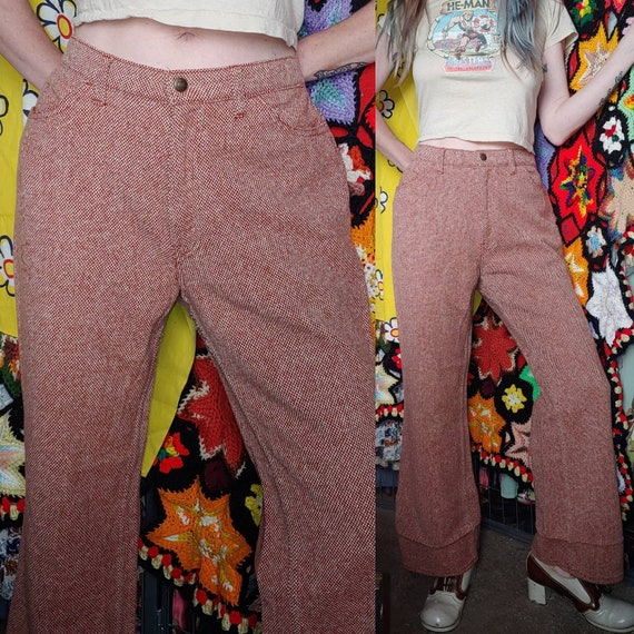 Vintage Levi's for Gals BIG E Knit FLARE Trouser B