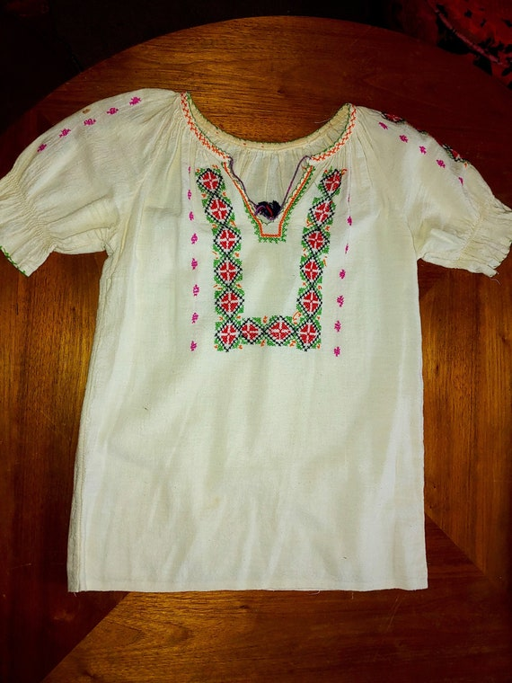 Vintage 1940's/50's HUNGARIAN Style  Blouse  Hippi