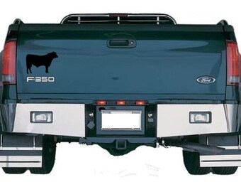 Angus Beef Cattle Car Decal