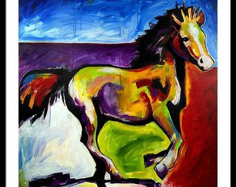 Horse of a Different Color, Downloadable Print