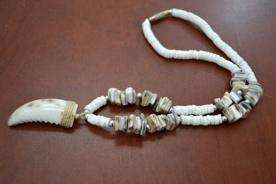 6 Pcs White Handmade Puka Chip Coco Shell Stretch Anklet 9 AK-108
