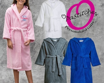 ede680a668 Popular items for kid s robe