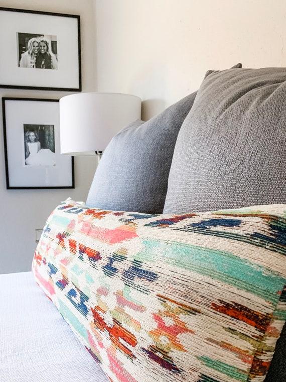Extra Long Lumbar Pillow Cover Long
