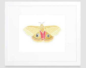 Butterfly Art Print - Nature Wall Art - Baby Girl Nursery - Butterfly Decor - Butterfly Nursery Art - Girls Wall Art - Digital Download