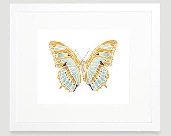 Butterfly Print -  Digital Download - Wall Art - Baby Girl Nursery - Toddler Art - Butterfly Nursery Art - Kids Wall Art