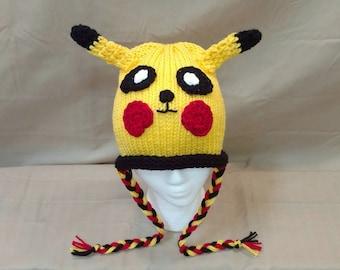 Pikachu Mütze Stricken Etsy