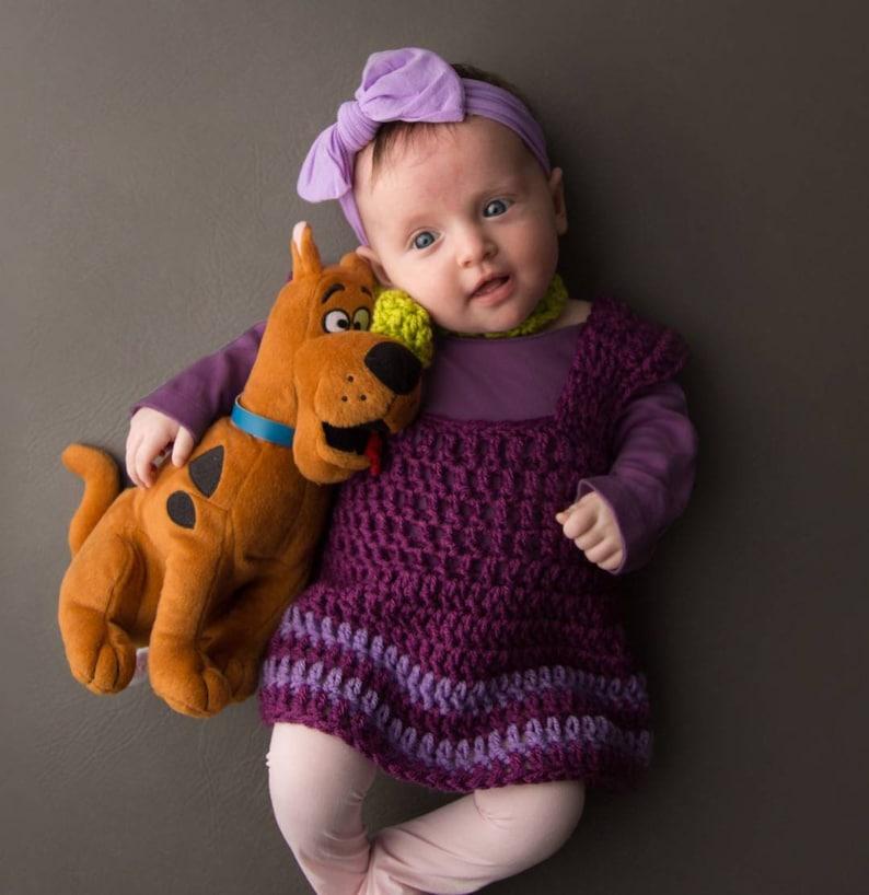Scooby Doo Costume Dress /& Tie