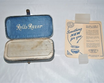 Aparat de ras vintage Gillette Safety Razor Roman | adroe-ant