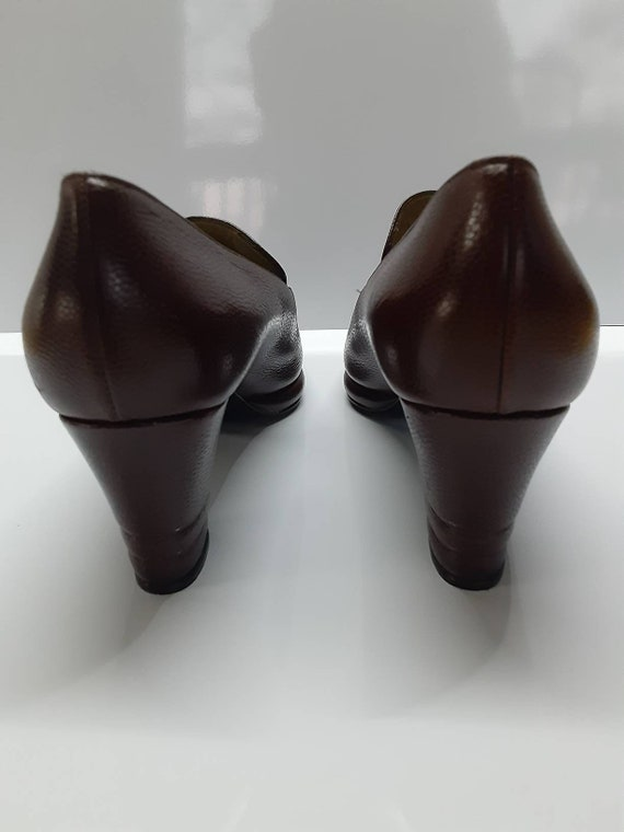 Rare Collector Yves Saint Laurent 70s pointed toe… - image 5