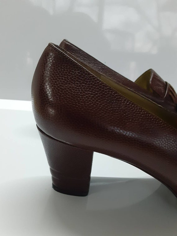Rare Collector Yves Saint Laurent 70s pointed toe… - image 2