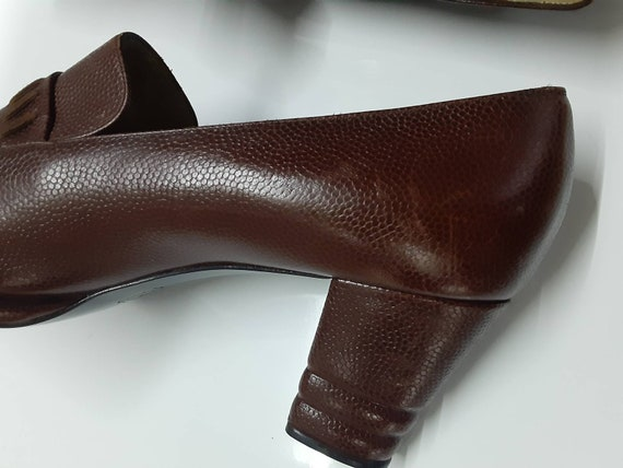 Rare Collector Yves Saint Laurent 70s pointed toe… - image 6