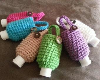 Crochet Sanitizer Cozy