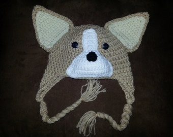 Crochet Corgi Hat