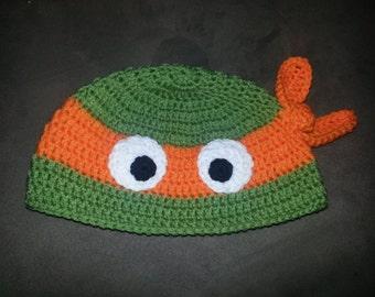 Crochet TMNT-Inspired Hat