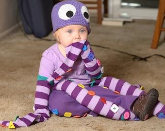 Crochet Googly-Eyed Hat
