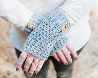 Crochet Fingerless Gloves, Crochet Wristwarmers, Women's Crochet Gloves, Women's Fingerless Gloves, Women's Crochet Mittens, Gift for Her