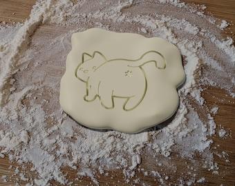 Cat Butt cookie cutter - 3D Printed