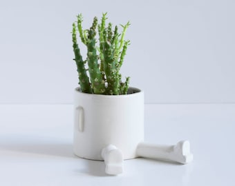 Ceramic planter – Basic Sprawl – Size S . Handmade ceramic pot.