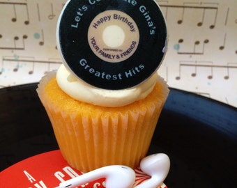 Edible Cupcake Toppers Record