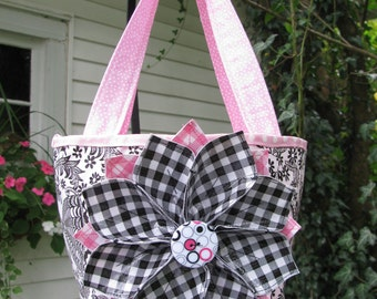 Adorable Flower Tote