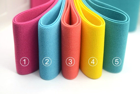 iCraft 3-Inch Wide by 2-Yard Colored Woven Elastic Band,Grey 14050