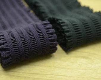 3 inch ( 75mm) Wide Shirring elastic ,Ruffled Elastic,Waistband Elastic,Sewing Elastic- 1 Yard