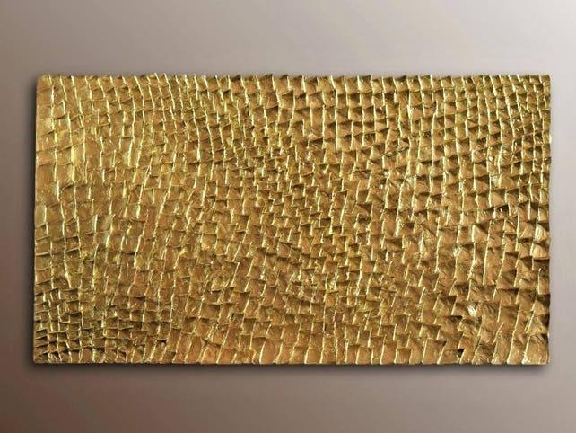 Gold Wall Sculpture Organic Texture Wall Art Gold Wall Art | Etsy