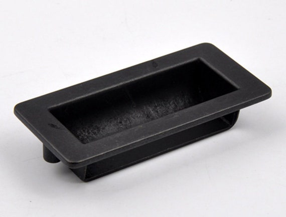 Black Sliding Door Pull Handle Dresser Knob Drawer Pulls | Etsy