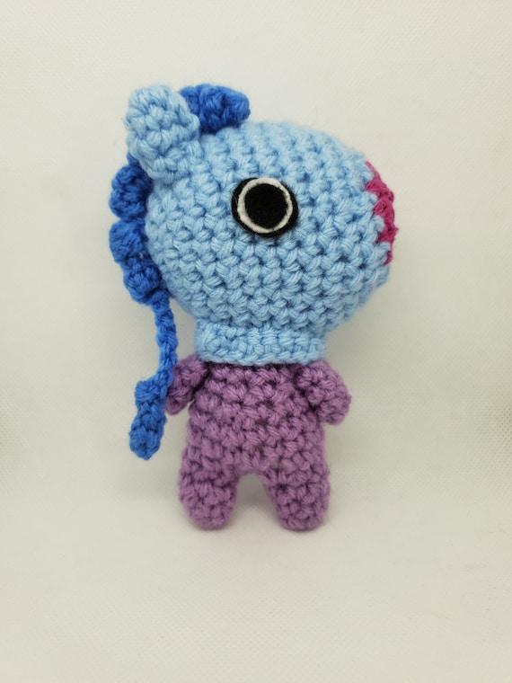 Christmas MANG BT21 Crochet Tutorial - YouTube | 760x570