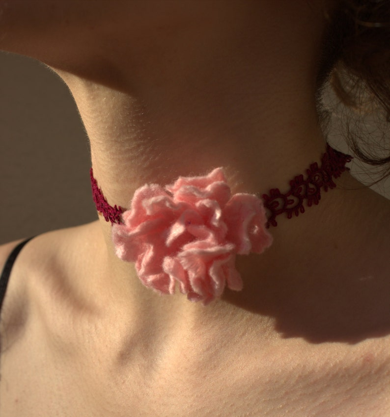 Pastel pink felt brooch Felted peony Corsage flower Bridal accessory Art brooch hand felted jewelry Botanical art Broche fleure feutre