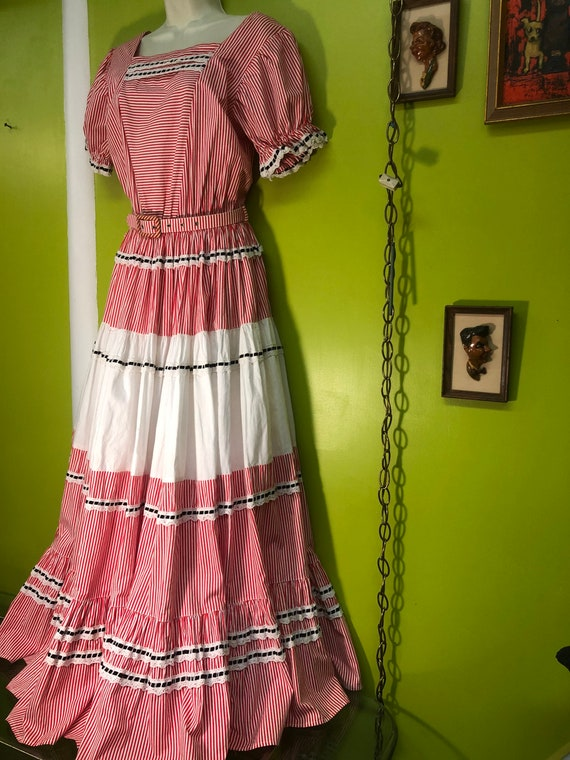 1940s Western Fashions Country Western Dance Dress